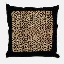 blanketleopardprint Throw Pillow