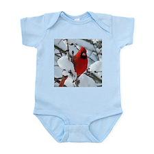 Snow Cardinal Infant Bodysuit