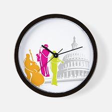 DCJF_2011_10X10_Dark_APPAREL Wall Clock