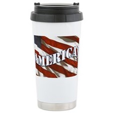 flag_licensePlate Travel Mug