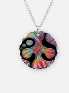 60s-blob-peace-OV Necklace
