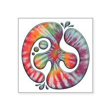"""60s-blob-peace-LTT Square Sticker 3"""" x 3"""""""