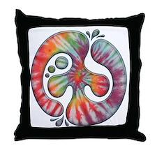 60s-blob-peace-LTT Throw Pillow