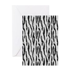 blanketsiberiantiger Greeting Card