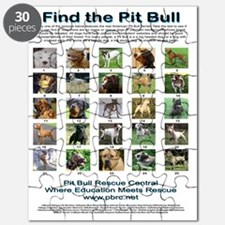 FindthePitBull16x20 Puzzle