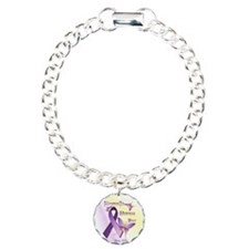 Fibromyalgia Awareness D Bracelet