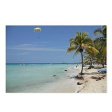 Negril 7 mile beach apr 2 Postcards (Package of 8)