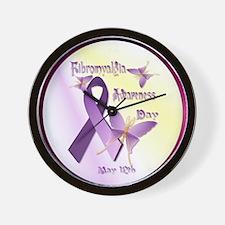 Fibromyalgia Awareness Day--Circle Wall Clock