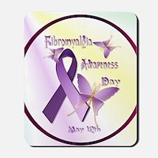 Fibromyalgia Awareness Day--Circle Mousepad