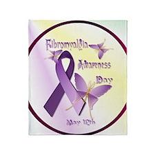 Fibromyalgia Awareness Day--Circle Throw Blanket