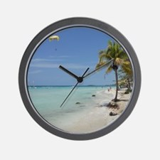 Negril 7 mile beach apr 2011 Wall Clock
