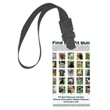 FindthePitBull copy Luggage Tag