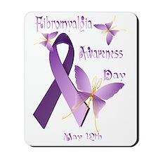 Fibromyalgia Awareness Day Trans Mousepad