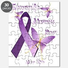 Fibromyalgia Awareness Day Trans Puzzle