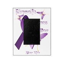 Fibromyalgia Awareness Day Trans Picture Frame