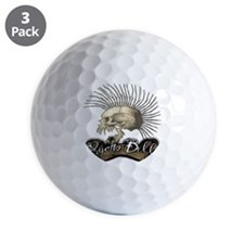 Psycho Billy Golf Ball