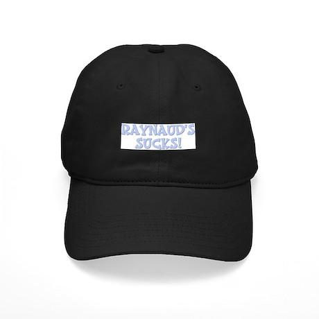 Raynaud's Sucks! Black Cap