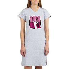 RackNRoll_logo_final_050908-v2 Women's Nightshirt