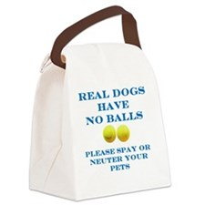 Real Dogs Canvas Lunch Bag