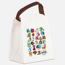 ABC Farm RGB Canvas Lunch Bag