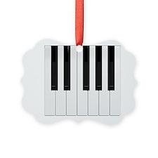 Piano / Keyboard Keys Ornament