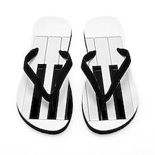 Piano / Keyboard Keys Flip Flops