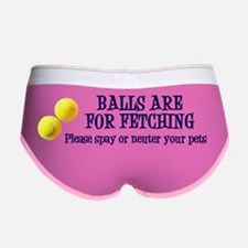 Balls are for fetching sticker Women's Boy Brief