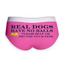 Real Dogs Sticker Women's Boy Brief