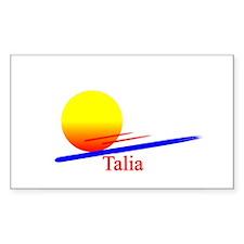 Talia Rectangle Decal