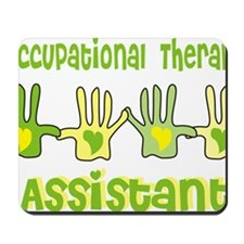 Occupational Therapy Assistant 4 hands Y Mousepad