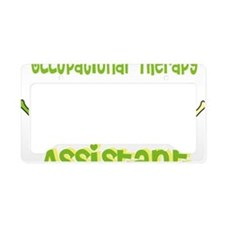 Occupational Therapy Assistan License Plate Holder