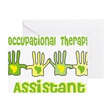 Occupational Therapy Assistant 4 han Greeting Card