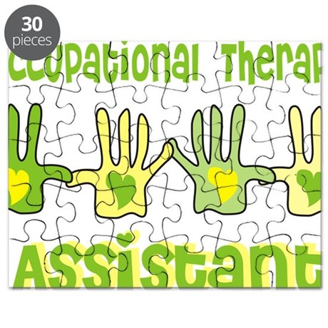 Occupational Therapy Assistant 4 hands YELL Puzzle