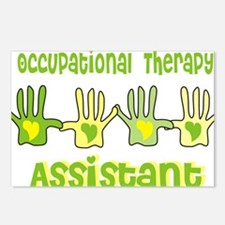 Occupational Therapy Assi Postcards (Package of 8)