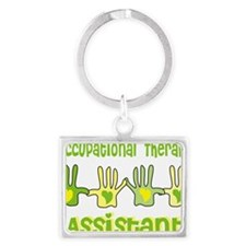 Occupational Therapy Assistant  Landscape Keychain