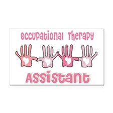 Occupational Therapy Assistan Rectangle Car Magnet