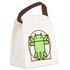 andriodman Canvas Lunch Bag
