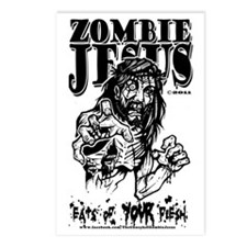 zombieEATS Postcards (Package of 8)