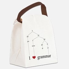 grammartree Canvas Lunch Bag
