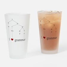 grammartree Drinking Glass