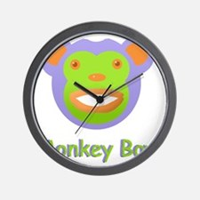 Face Monkey Boy Wall Clock