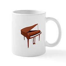 Grand Piano: Wood Finish Mugs
