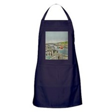 lobster_cages_ipad Apron (dark)