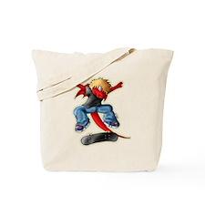 DragonKickflip_Dark Tote Bag