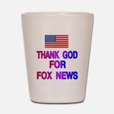 FOX NEWS Shot Glass