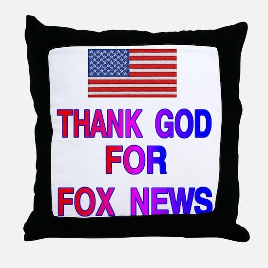 FOX NEWS Throw Pillow