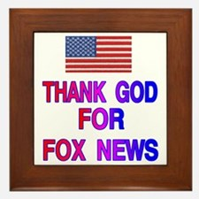 FOX NEWS Framed Tile