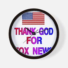 FOX NEWS Wall Clock