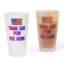 FOX NEWS Drinking Glass