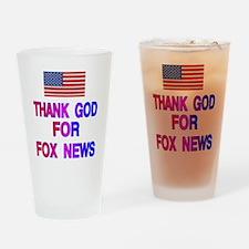 FOX NEWS Drinking Glass
